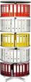 Draaibare ordnerzuil Basis (2 niveaus)  rond 80 cm