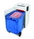 HSM Papiervernietiger met afvalcontainer